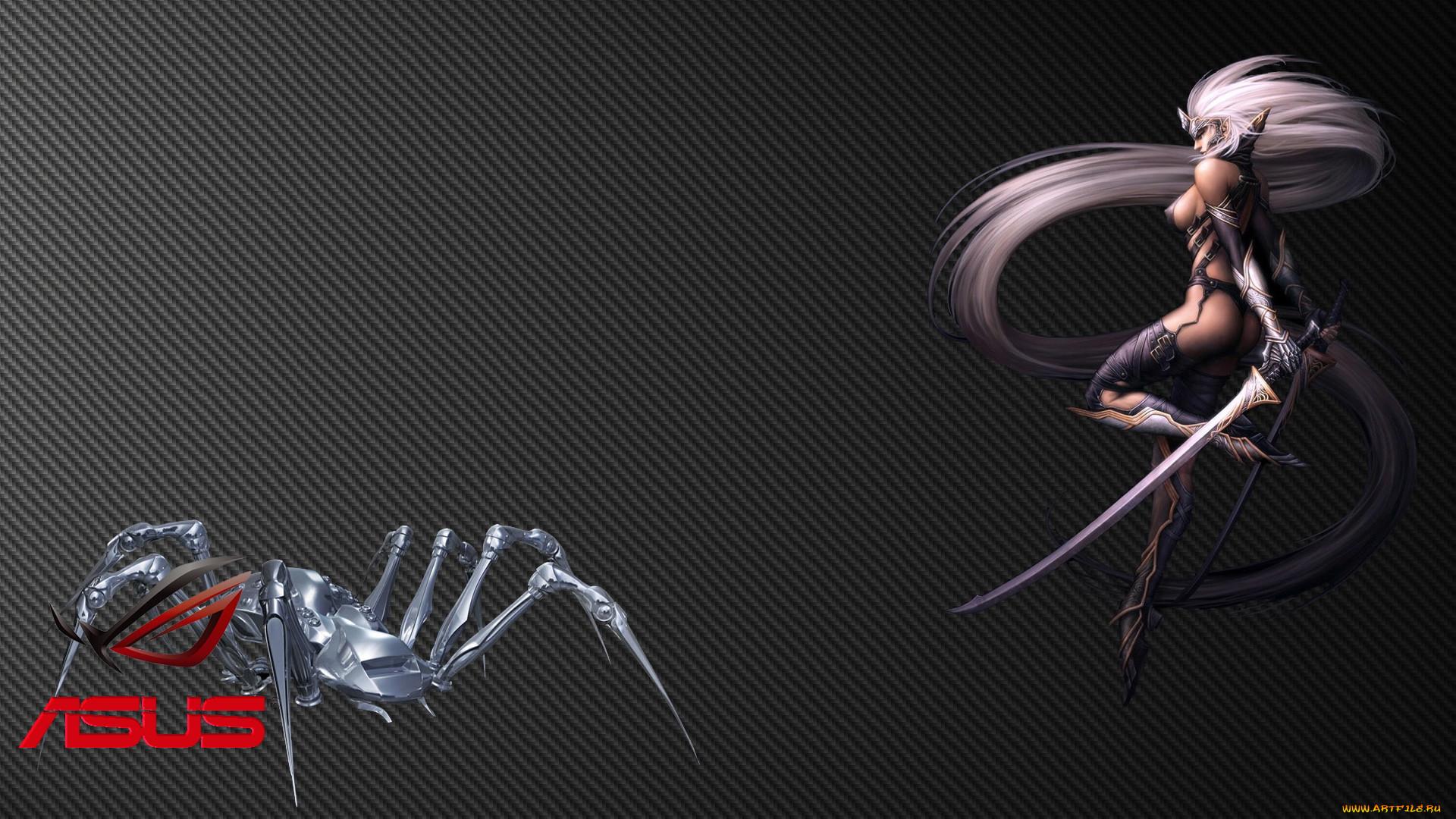 Обои Asus Девушки
